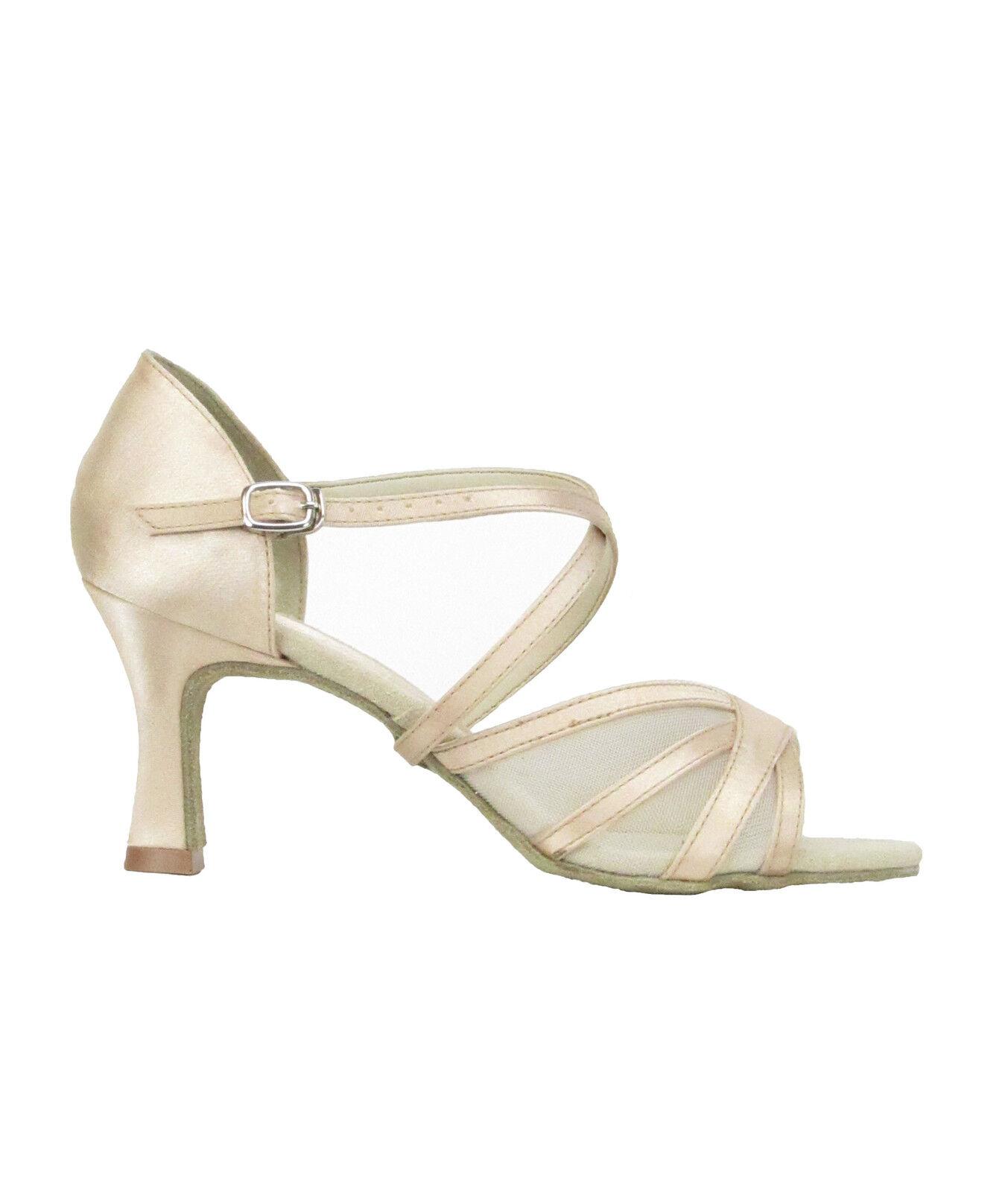 So Danca BL162 Damen Tanz Tango Salsa Balboa Rumba Latein Schuhe ivory Abs. 6,4