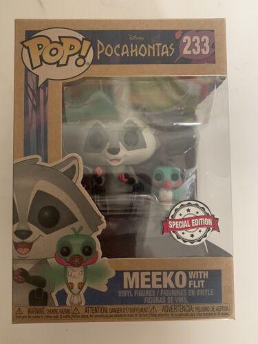 Disney-Pocahontas-Meeko avec FLIT édition spéciale Funko Pop