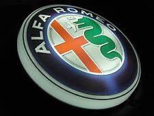 ALFA ROMEO LARGE LED 2FT ILLUMINATED GARAGE WALL LIGHT SIGN TOOLS 155 GIULIA