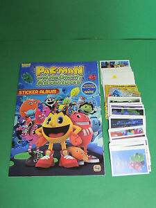 Alerte Pac-man : Album D'image Vide + Full Set Complet Sticker Giromax 2012 - No Panini