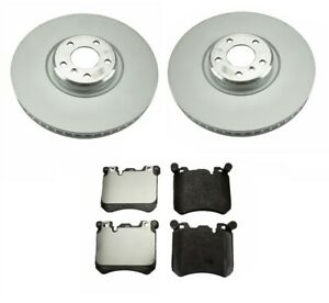NEW Front /& Rear Vented Disc Brake Rotors Brembo Kit For BMW E70 E71 X5 X6