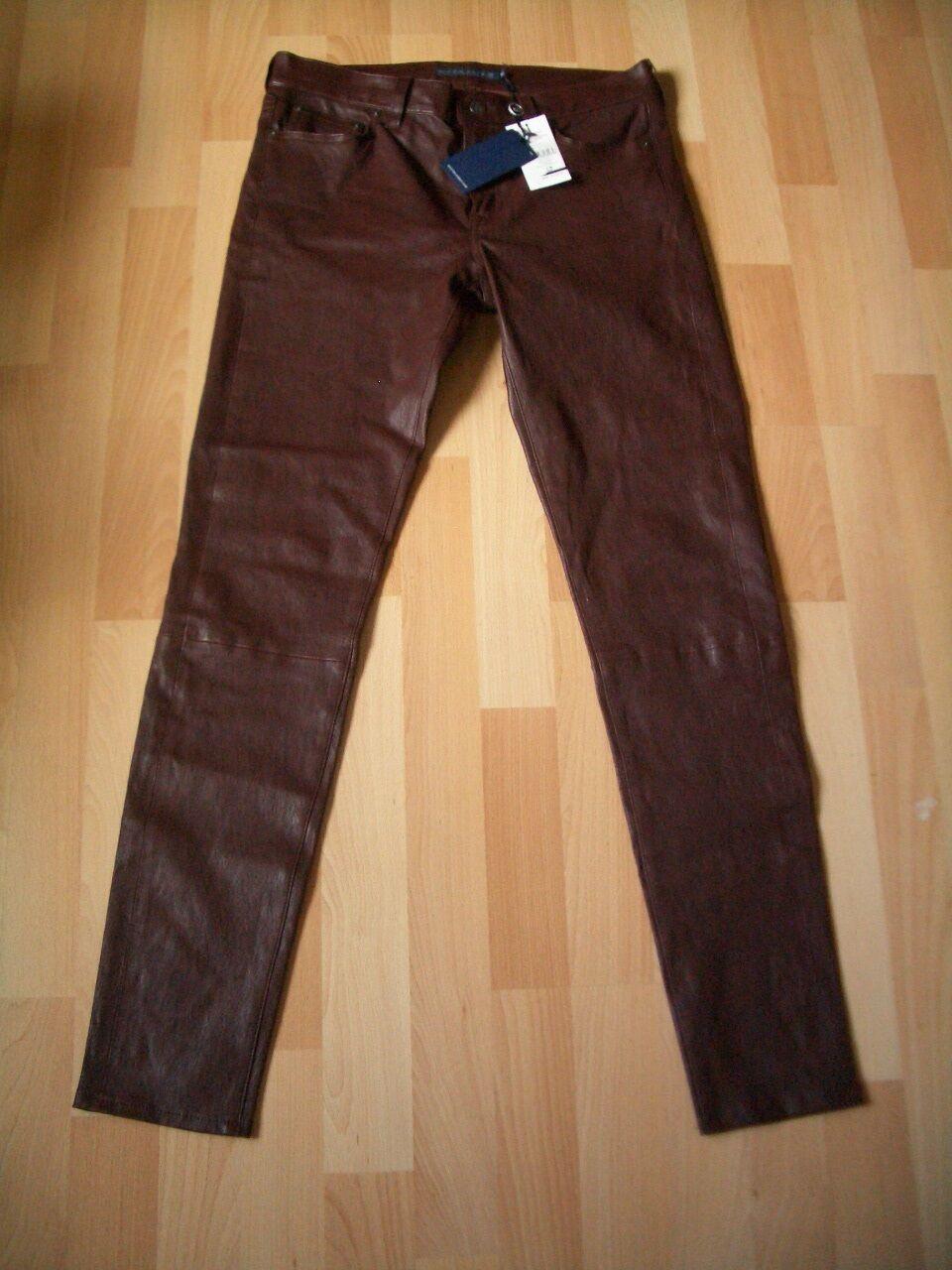 Ralph Lauren  Polo Merlot Cuero Bolsillo Jeans Talla 10 EE. UU. 5 14 púrpura oscuro  a precios asequibles