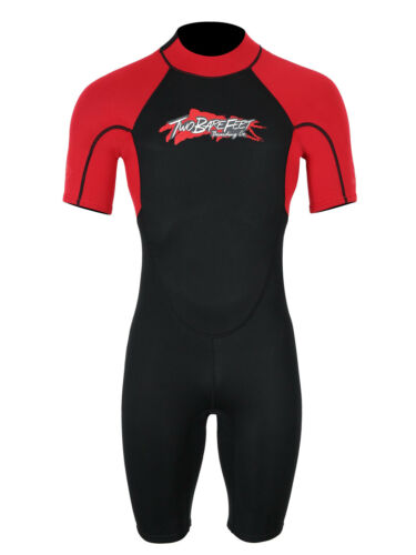 MD Adults 2.5mm Victory Shorty Wetsuit by TBF Neoprene Unisex Watersports Spring