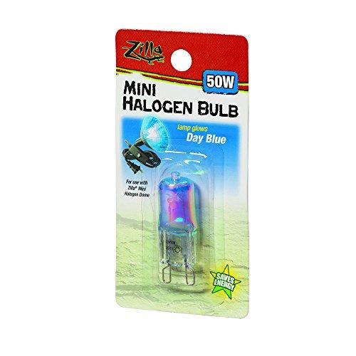 Zilla Reptile Terrarium Heat Lamps Mini Halogen Bulb Day