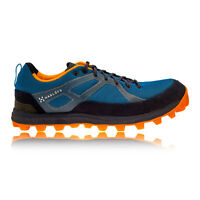 Haglofs Gram Pulse Mens Blue Black Cushioned Walking Sports Shoes Trainers