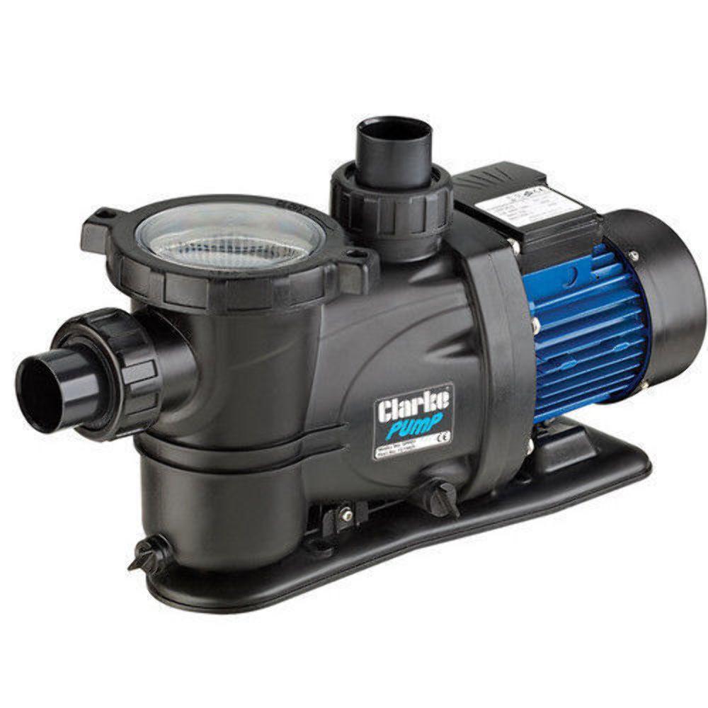 CLARKE 600w 3 4 HP SELF PRIMING SWIMMING POOL PUMP 230volt 50mm 7175025 SPP07
