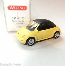 VW New Beetle Cabrio Wiking   HO 1:87 #1096