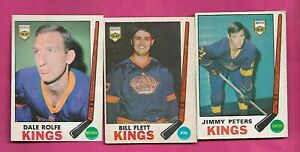 1969-70-OPC-KINGS-PETERS-RC-FLETT-ROLFE-CARD-INV-C5839