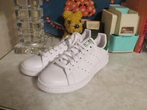 Adidas originali stan smith scarpe bianchi bassi verdi m20324 dimensioni 7
