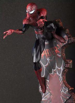 "THE Black AMAZING SPIDER-MAN 2 Last Stand 18"" Statue Figure Figurine NIB"