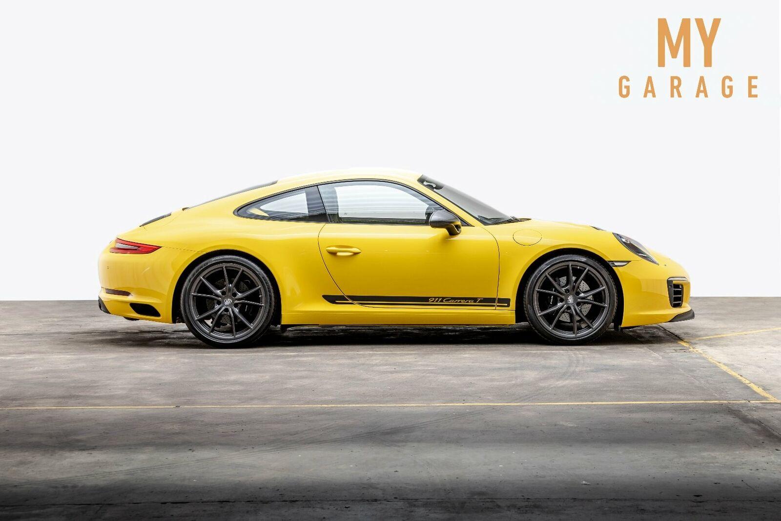 Porsche 911 Carrera T 3,0 Coupé 2d - 709.000 kr.