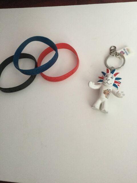 London 2012 Bracelets And Keyring