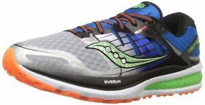 S20291-1-Men-039-s-SAUCONY-Triumph-ISO-2-Running-Sneaker-Blue-Silver-WIDE-WIDTH