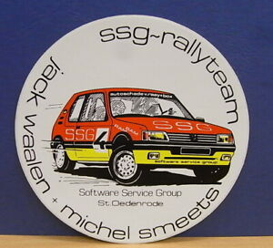 1x-Sticker-decal-Peugeot-SSG-Rallyteam-with-org-back-80-90-039-s-02110