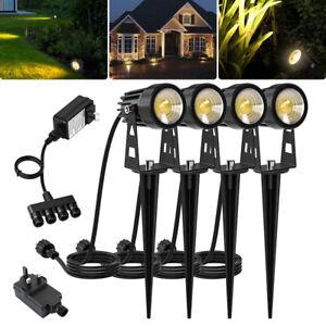 4pcs-LED-paysage-lumiere-exterieure-jardin-spot-pelouse-chemin-5W-3000K-120V-G