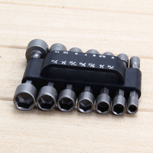 NEW 14Pcs Socket Adapter Set Assortment Hex Shank Impact Drill Bits Driver Kit