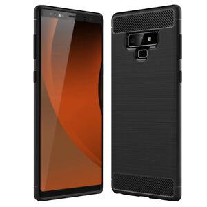 SDTEK-Funda-para-Samsung-Galaxy-Note-9-Fibra-de-Carbon-TPU-Case-Cover
