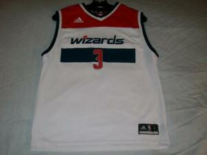 new product 08495 967a4 Details about Smith Jr 3 Washington Wizards NBA adidas Authentics White  Jersey Boys Large used