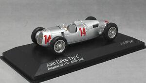 Minichamps-Auto-Union-Tipo-C-hungaro-GP-1936-Achille-Varzi-400360014-1-43-Nuevo