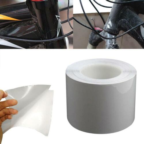 Bike Bicycle Frame Protector Clear Wear Surface Tape Film 60 To 120° 15X100CM