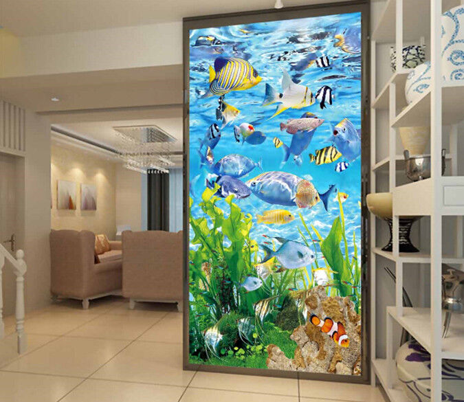 3d Tropical Fish 78 Wallpaper Mural Wallpaper Wallpaper Picture Family De