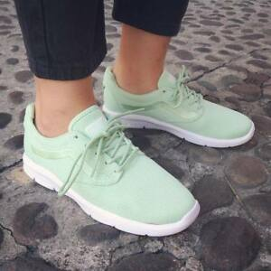3e7d8343522b6a VANS ISO 1.5 + (Mesh) Pastel Green ULTRACUSH Trainers WOMEN S SIZE ...