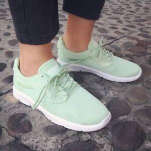 96c23f20ae6 VANS ISO 1.5 + (Mesh) Pastel Green ULTRACUSH Trainers WOMEN S SIZE ...