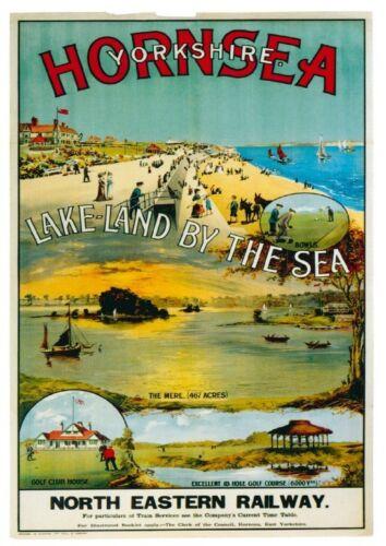 176 Vintage Railway Art Poster Hornsea