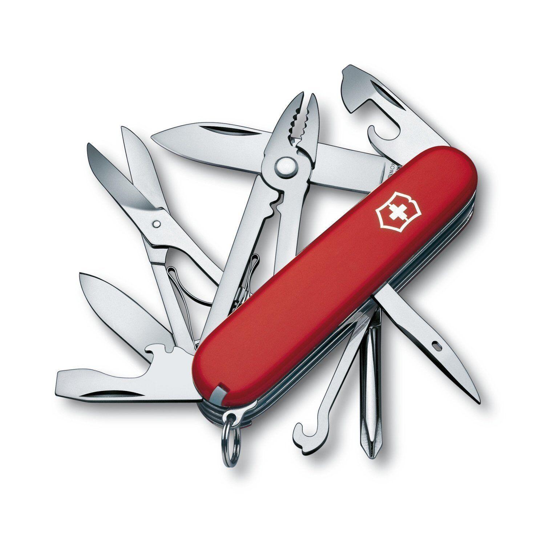 Victorinox 1.4723 Taschenwerkzeug Taschenmesser Deluxe Tinker 1.4723 Victorinox rot neu OVP a1c61a