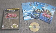 NINTENDO GAMECUBE THE LEGEND OF ZELDA WIND WAKER BEST SELLER - GAME CASE MANUAL