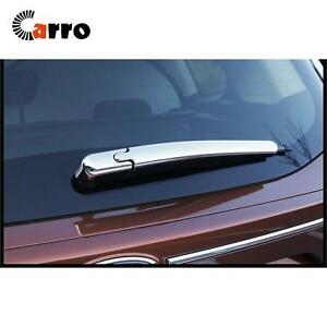 Image Is Loading Chrome Plastic Rear Tail Window Wiper Cover Trim