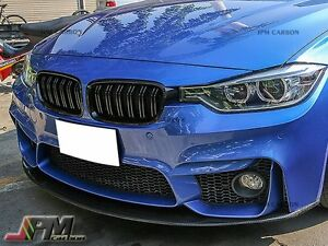 12 16 M3 Look Gloss Black Front Grille Bmw F30 F31 316i