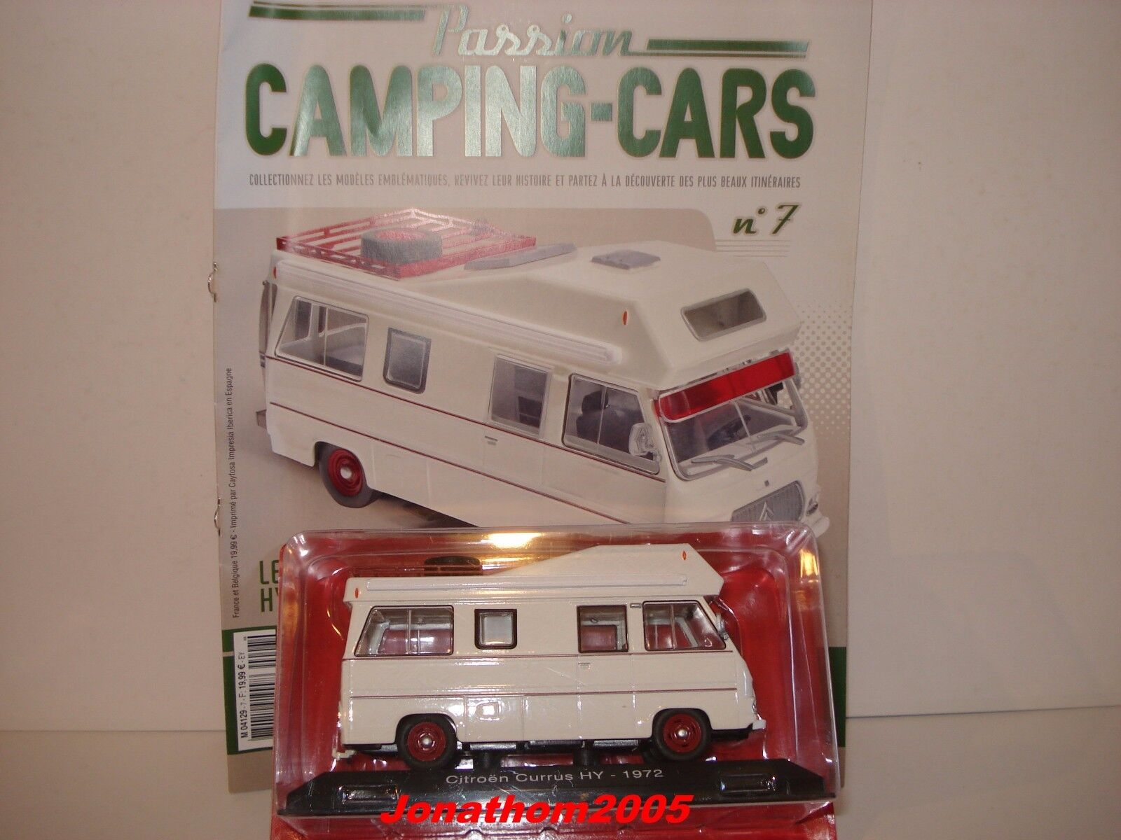 PASSION CAMPING CARS - CITROEN HY CURRUS - FRANCE 1972 au 1 43°