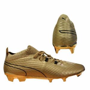 Puma One Gold FG Mens Football Soccer
