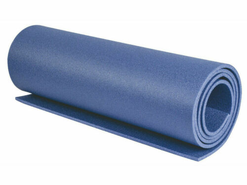 Highlander 3 Season Camping Leisure Roll Mat 1800 X 500 X 8mm Large Blue SM002