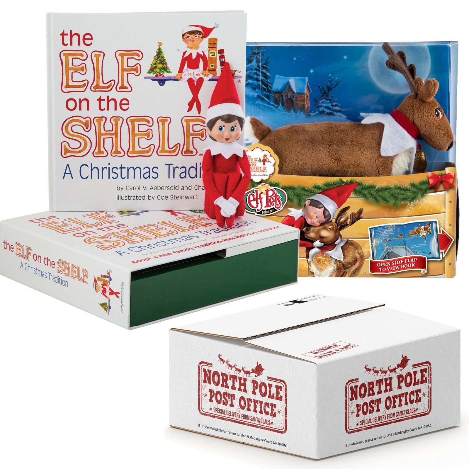The Elf on the Shelf® Girl Scout Elf  with Elf Pets Reindeer