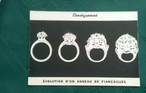 Vintage-French-card-one-side-humorous-other-advertisement-for-Gynedol-pills