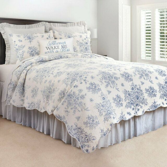 92/'/'x88/'/' 100/% Cotton 3-Piece Multicolored Boho Full//Queen Size Quilt Set