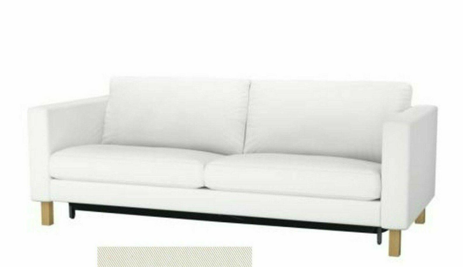 Ikea Cover For Karlstad Sofabed New Blekinge White Cotton Sofa