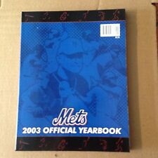 New York Mets Official 2003 Baseball Yearbook near mint to mint shipped in a box