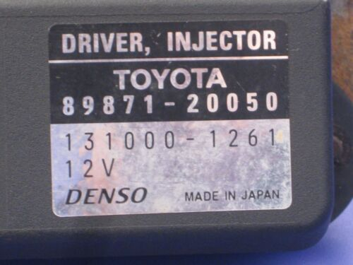 Toyota Avensis T25 Steuergerät Driver Injector 89871-20050 131000-1261