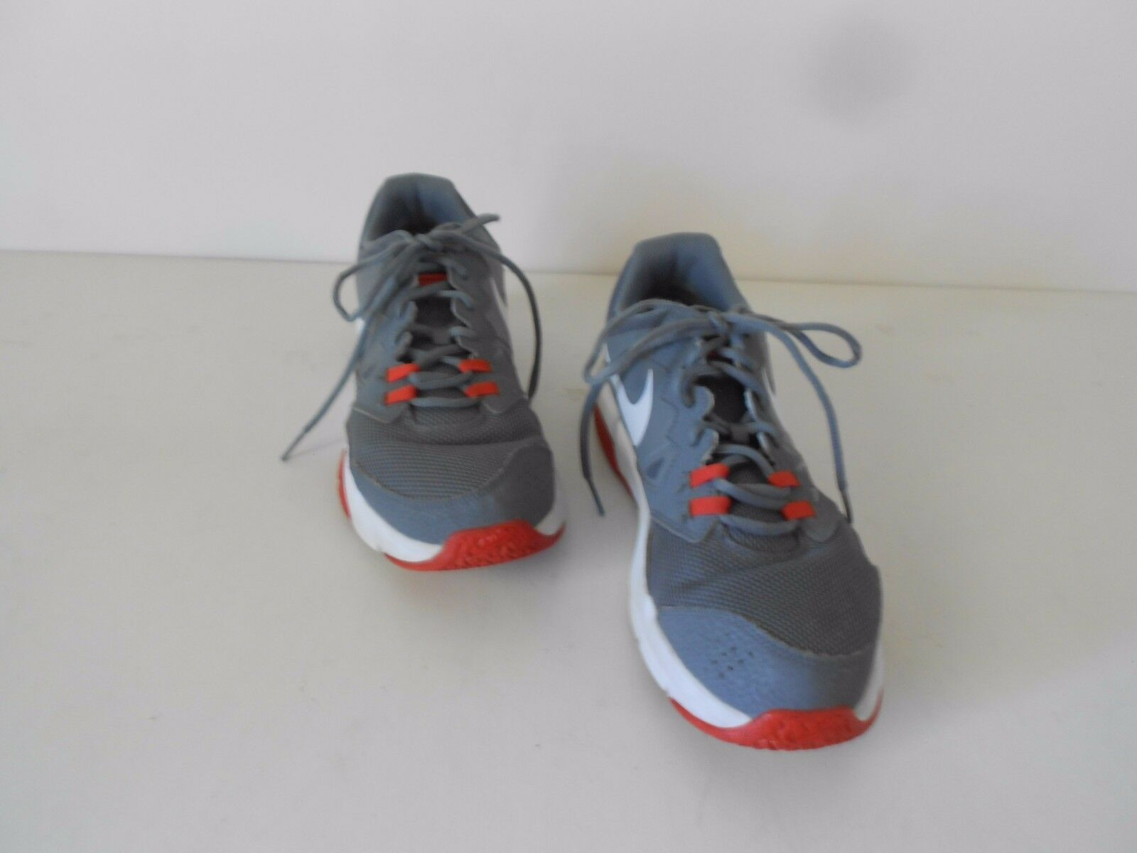 Men's Nike Max Sneakers Air Max Crusher 2 Gray White & Red US 9   Casual wild