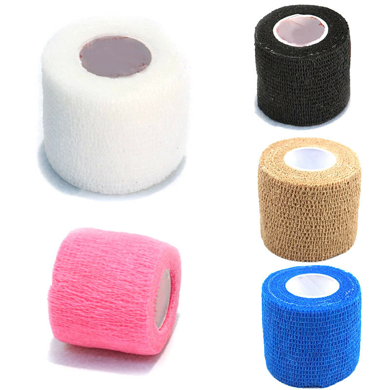 200PC selbsthaftende Badagen Bandage flexible Haftbandage kohäsive Fixierbinde