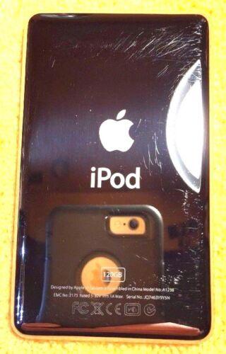 Chrome Back Panel for Apple iPod Classic 6th Gen THIN 120 GB Repair  Lot