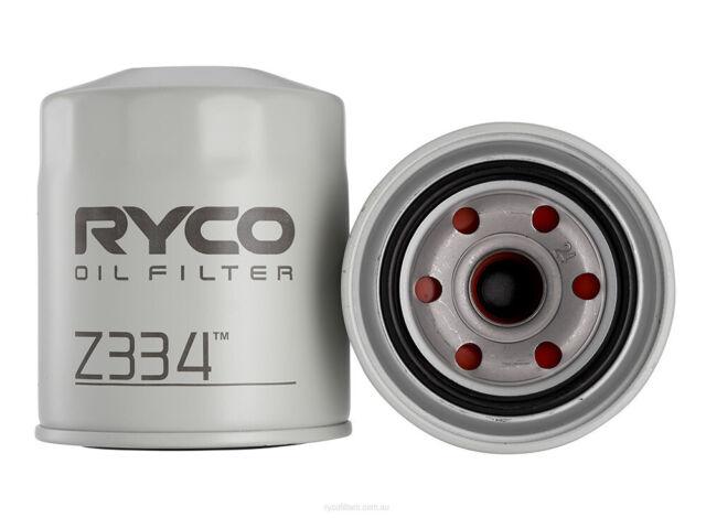 Oil Filter Ryco Z334 for FORD COURIER MAZDA B-SERIE BRAVO TOYOTA COASTER DYNA HI