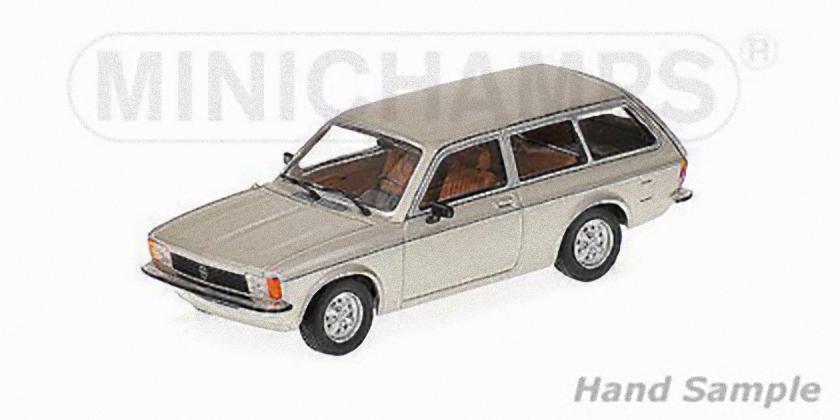MINICHAMPS 400048111 - OPEL KADETT C CARAVAN L - 1978  silver 1 43