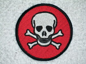 22eabb99b8783 Image is loading Death-Head-Skull-Embroidered-Patch