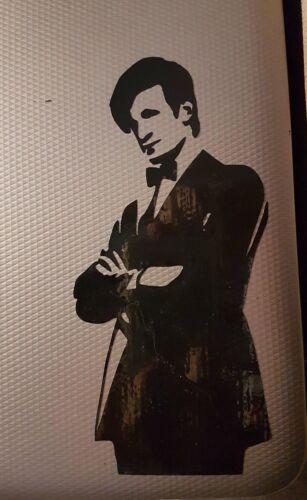 Doctor Who 11th Doctor Matt Smith Vinyl Decal Sticker Car Wall Laptop