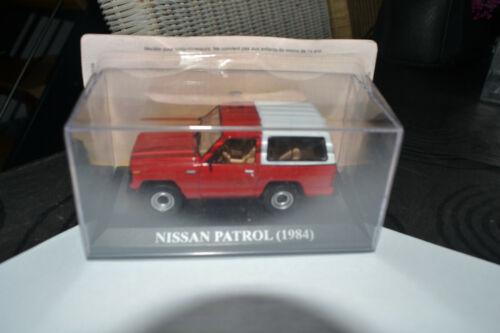 VOITURE MINIATURE 1//43  NISSAN  PATROL 1984