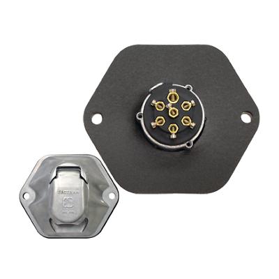 Tectran 670-62 6-Way Socket